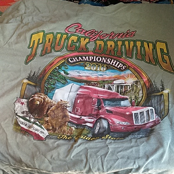 Port and Company Other - Commemorative Truck Driving Championships Tee